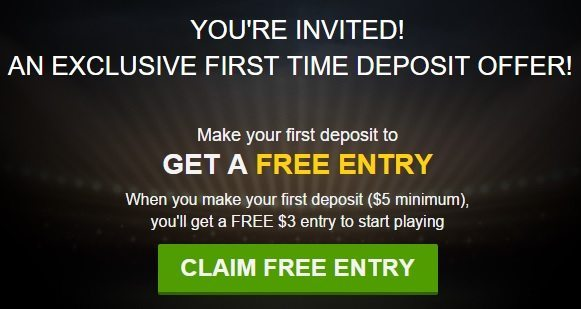 DraftKings Free Entry