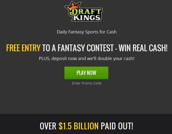 DraftKings Free Contest Welcome Bonus