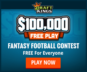 Free DraftKings $100K NFL Week 1 Contest!