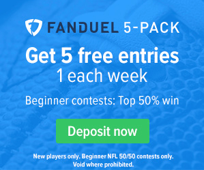 FanDuel Welcome Promo as Seen on TV